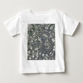 巻上げみみずA1 ベビーTシャツ