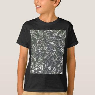巻上げみみずA1 Tシャツ