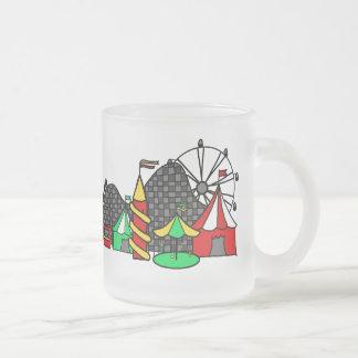 市のおもしろい フロストグラスマグカップ