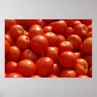 市場のトマト ポスター