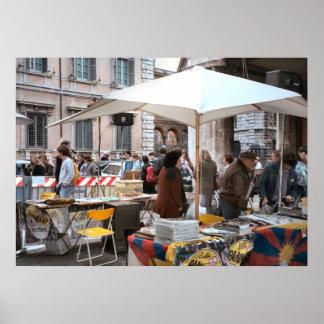 市場のローマ、 ポスター