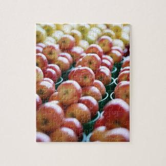 市場の停止のりんご ジグソーパズル