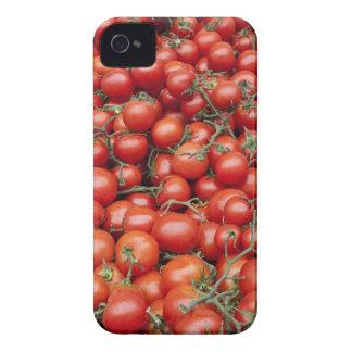 市場の停止のトマトの大きい穀物 Case-Mate iPhone 4 ケース
