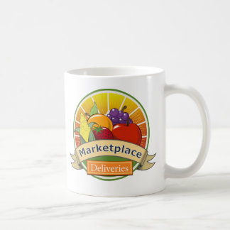市場配達 コーヒーマグカップ