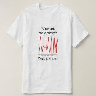 市場非持久性か。 Yes、お願いします! Tシャツ
