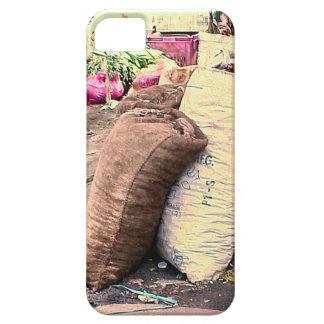 市場、シンガポールの袋 iPhone SE/5/5s ケース