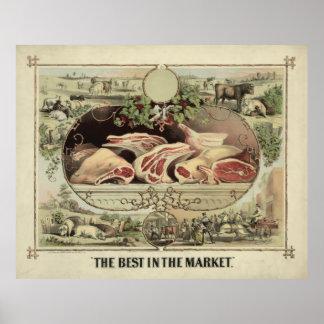市場[1872年]のベスト ポスター