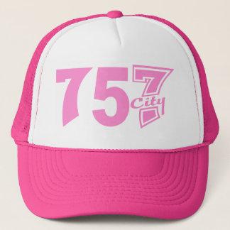 市外局番757city -ピンク キャップ