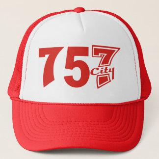 市外局番757city -赤 キャップ