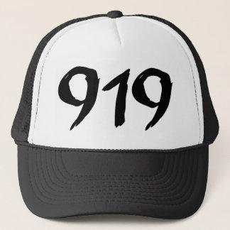市外局番919のトラック運転手の帽子 キャップ