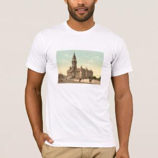 市庁舎、ポーツマス、ハンプシャー、イギリス Tシャツ