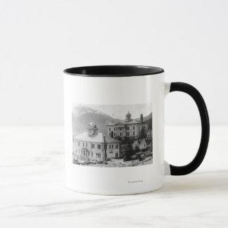 市役所およびジュノーの裁判所 マグカップ