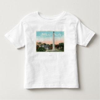 市役所およびMacDonoughの記念物の眺め トドラーTシャツ