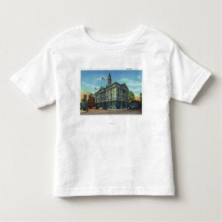 市役所3の外観 トドラーTシャツ