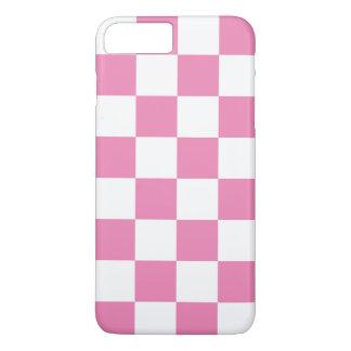 市松模様になるピンク iPhone 8 PLUS/7 PLUSケース