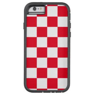 市松模様になる赤 TOUGH XTREME iPhone 6 ケース