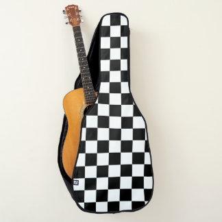 市松模様になる黒 ギターケース