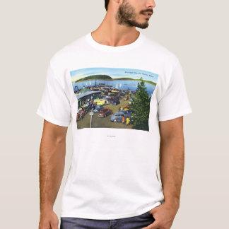 市桟橋の眺め Tシャツ