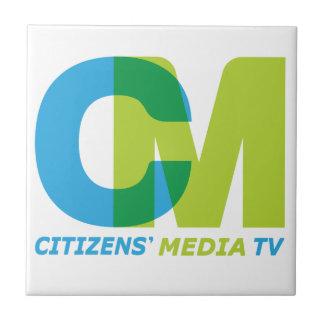市民の媒体のロゴ タイル