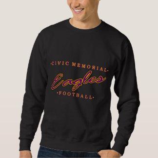市民の記念のフットボール スウェットシャツ