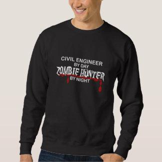市民英国のゾンビのハンター スウェットシャツ