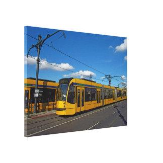 市街電車 キャンバスプリント
