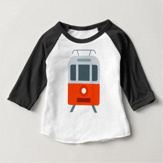 市街電車 ベビーTシャツ