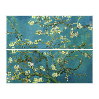 布のゴッホのアーモンドの花 キャンバスプリント