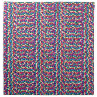 布のナプキンのかぎ針編みのスタイル(4)の置いて下さい ナプキンクロス