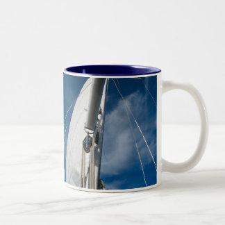 帆および索具 ツートーンマグカップ