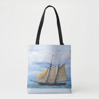 帆の下のAmistad トートバッグ