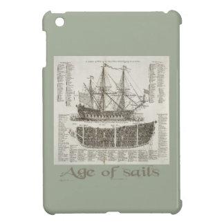 帆の年齢 iPad MINI CASE