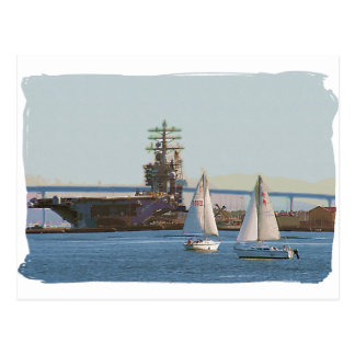 帆サンディエゴ ポストカード