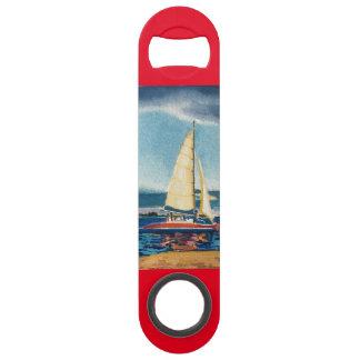 帆ボートが付いている栓抜き スピードボトルオープナー