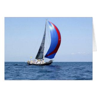 帆ボートカード カード