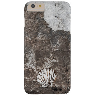 帆立貝の化石の貝のiPhoneの場合 Barely There iPhone 6 Plus ケース