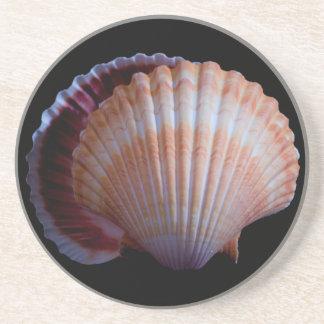 帆立貝貝のコースター コースター