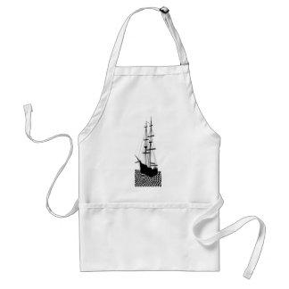 帆船のヨットのゲラ航海のなCricketDiane スタンダードエプロン