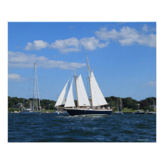 帆船の写真撮影ポスター ポスター