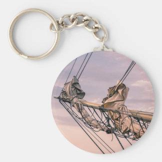 帆船の詳細 キーホルダー