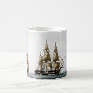 帆船 コーヒーマグカップ