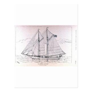 帆船 ポストカード