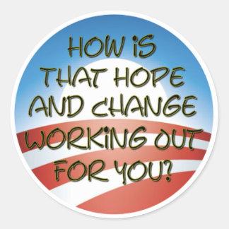 希望および変更2011年か。 ラウンドシール