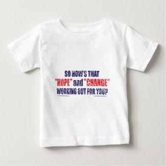 希望および変更DSTティー ベビーTシャツ