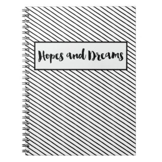 希望および夢ジャーナル ノートブック