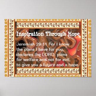希望によるインスピレーション ポスター