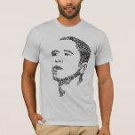 希望のオバマの単語 Tシャツ