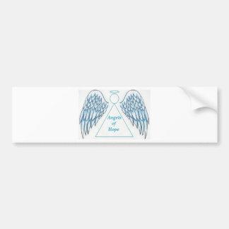 希望のステッカーの天使 バンパーステッカー