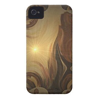 希望のブラックベリーのはっきりしたな箱 iPhone 4 Case-Mate ケース