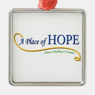 希望のロゴの場所 メタルオーナメント